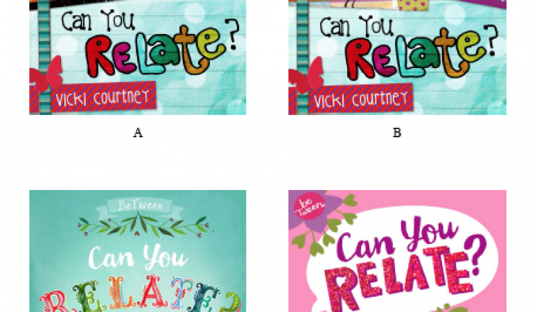 Pick the cover for my new tween book!